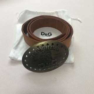 ディーアンドジー(D&G)の新品未使用! D&G 男性用ベルト(ベルト)