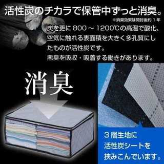 ☆ときめき収納☆ ストレージスタイル 衣類 整理袋 3枚組(その他)