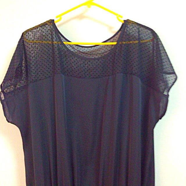 GU(ジーユー)のg.u 黒ワンピ レディースのワンピース(ミニワンピース)の商品写真