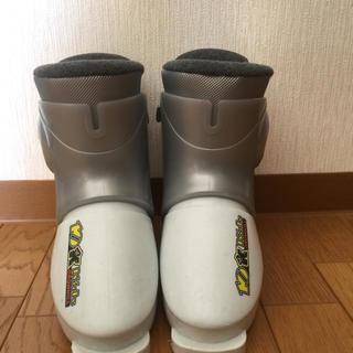 ジュニアスキーブーツ スキーブーツ スキー靴 234mm 19cm(ブーツ)