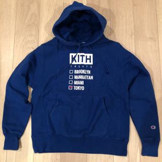 キース(KEITH)の即発送 Champion × KITH TREATS TOKYO 限定(パーカー)