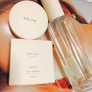シロ(shiro)のshiro savon 練り香水とボディコロンセット(香水(女性用))
