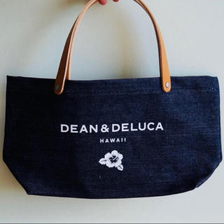 ディーンアンドデルーカ(DEAN & DELUCA)の《新品》DEAN&DELUCA ハワイ限定トート デニム(トートバッグ)