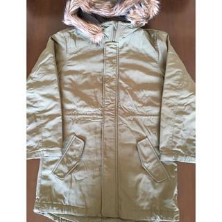 ジーユー(GU)の【GU】ジーユー★モッズコート 150cm カーキ(ジャケット/上着)
