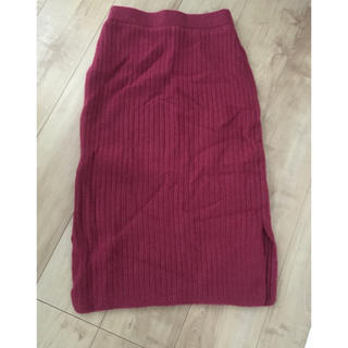 アバンリリー(Avan Lily)のアバンリリー♡ニットスカート(ひざ丈スカート)