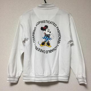 ディズニー(Disney)のミニー バックプリント MA-1 ブルゾン ヴィンテージ(ブルゾン)