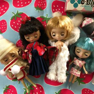 タカラトミー(Takara Tomy)のプチブライス  4人セット(人形)