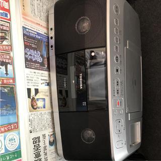 トウシバ(東芝)のTOSHIBA CDラジカセ(ラジオ)