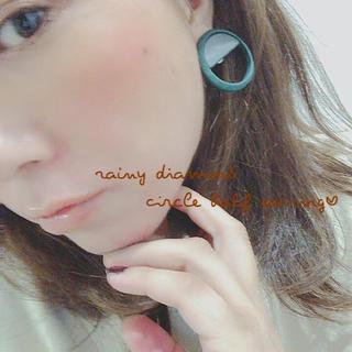 トゥデイフル(TODAYFUL)のcircle half earring♡(イヤリング)