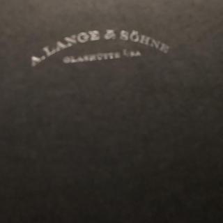 ランゲアンドゾーネ(A. Lange & Söhne(A. Lange & Sohne))のランゲ&ゾーネの腕時計カタログ(腕時計)