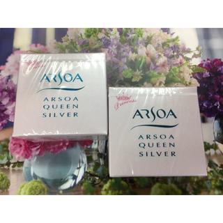 アルソア(ARSOA)のアルソア クイーンシルバー 無香料 70g  2個 (洗顔料)