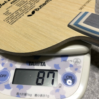 バタフライ(BUTTERFLY)のbutterfly ビスカリア 新品未使用 卓球 ラケット(卓球)