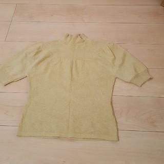 アーヴェヴェ(a.v.v)のavv ニット 半袖 サイズ42(ニット/セーター)
