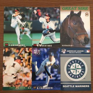 2000年 ベースボールカード(スポーツ選手)