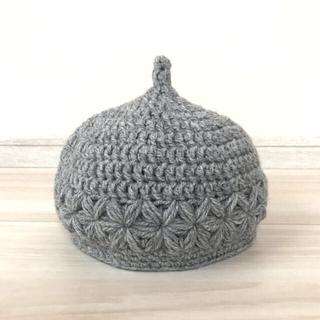 お花のどんぐり帽子 Lサイズ(帽子)