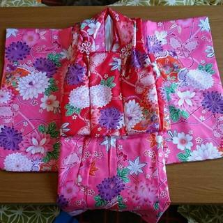 七五三 3歳 着物セット 和服(和服/着物)