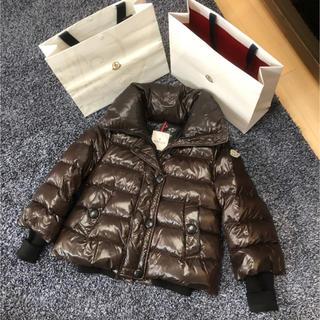 モンクレール(MONCLER)のモンクレール 国内正規品 TULSA ブラウン サイズ1(ダウンジャケット)