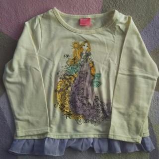 ディズニー(Disney)のDisney♡ラプンツェル薄手トレーナー♡120cm(Tシャツ/カットソー)