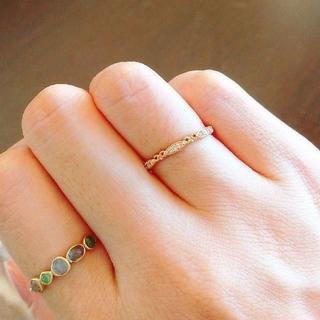 アガット(agete)のアガット ダイヤモンド リング 6号(リング(指輪))