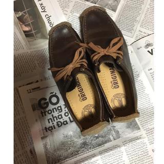 クラークス(Clarks)のclsrks  ワラビー革24,5(ローファー/革靴)