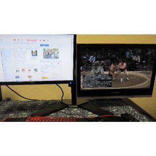 エイサー(Acer)のモニターアーム セット(ディスプレイ)