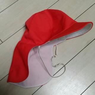 M~赤白帽子 メッシュ(帽子)