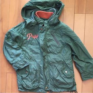 パプ(papp)のPAPPキッズジャンパージャケット110cm(着脱可能フリース付き)(ジャケット/上着)