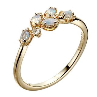 アガット(agete)のagete classic  オパールリング(リング(指輪))