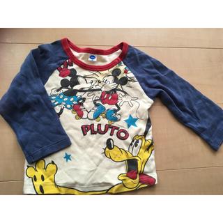 ディズニー(Disney)のミッキー ミニー ロンT 90(Tシャツ/カットソー)