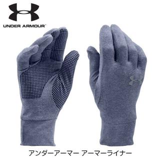 アンダーアーマー(UNDER ARMOUR)のラスト1 希少 アンダーアーマー ネイビー SM 手袋 グローブ レディース(手袋)