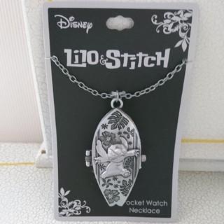 ディズニー(Disney)のmartha様専用 スティッチペンダントウォッチ(ネックレス)
