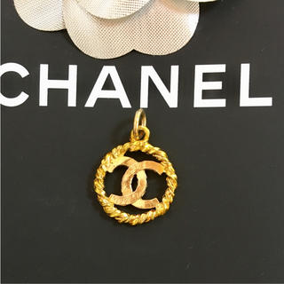 dac8d340ff46 シャネル(CHANEL)の正規品 シャネル ペンダント トップ ゴールド ココマーク 金 丸 ネックレス