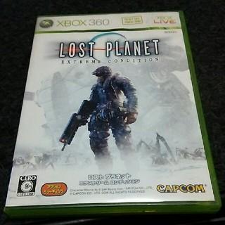 エックスボックス360(Xbox360)のxbox360 ロストプラネット (家庭用ゲームソフト)