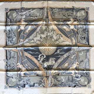 エルメス(Hermes)のエルメス スカーフ 90 世界のリズム(バンダナ/スカーフ)