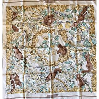 エルメス(Hermes)のエルメス スカーフ 90 くるみ割り(バンダナ/スカーフ)