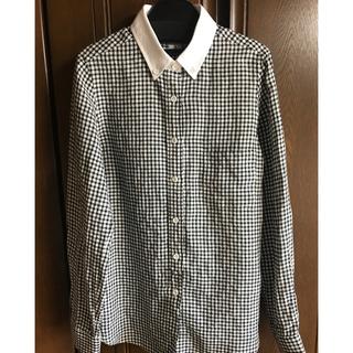 スリードッツ(three dots)のスリードッツ☆ギンガムチェックシャツ(シャツ/ブラウス(長袖/七分))