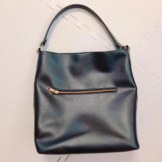 ザラ(ZARA)のブラック鞄(トートバッグ)