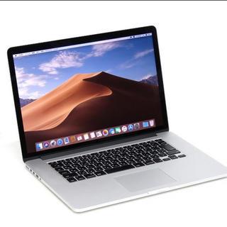 マック(Mac (Apple))のMacBook Pro Late 2013 15インチ Retina (ノートPC)