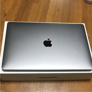 マック(Mac (Apple))のMacBook pro 2018年モデル touch bar付 13インチ(ノートPC)