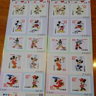 ディズニー(Disney)の生誕90週年記念切手2シート(切手/官製はがき)