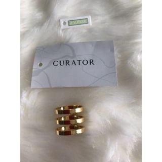 キュレーター(CURATOR)のcurator リング指輪  新品未使用 超お買い得(リング(指輪))