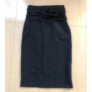 ザラ(ZARA)のZARA タイトスカート ペンシルスカート 黒 ひざ下(ひざ丈スカート)