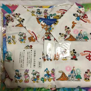 ディズニー(Disney)の新品タグ付き☆チームディズニーシャツMサイズ(シャツ/ブラウス(長袖/七分))
