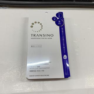 トランシーノ(TRANSINO)のトランシーノ 薬用ホワイトニングフェイシャルマスク(パック / フェイスマスク)