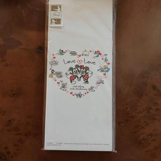 ディズニー(Disney)の未使用 ディズニー110th記念 郵便局限定販売 一筆箋セット(ノート/メモ帳/ふせん)