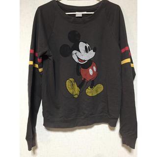 ディズニー(Disney)のミッキー Tシャツ(Tシャツ(長袖/七分))