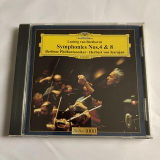 CD ベートーベン交響曲 第4番、第8番(クラシック)