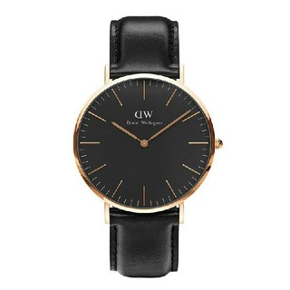 ダニエルウェリントン(Daniel Wellington)のダニエルウェリントン D W 36mm クラシックブラック(腕時計(アナログ))