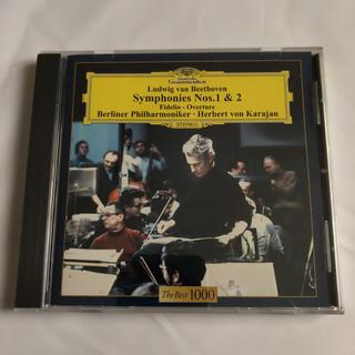 CD ベートーベン交響曲 第1番、第2番(クラシック)