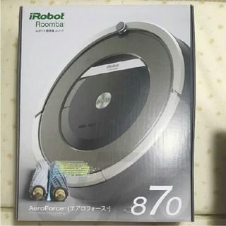 アイロボット(iRobot)の新品 iRobot Roomba ロボット掃除機 ルンバ870 (掃除機)